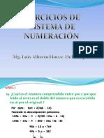 Ejercicios de Sistemade Numeracion