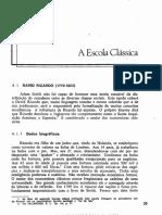 ARAÚJO. História Do Pensamento Econômico. Cap. 4, p. 33-44