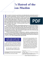 Islam's Hatred of the Non-Muslims