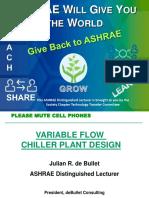 Ashrae Variable Flow Chiller Plant Design