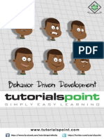 Behavior Driven Development Tutorial