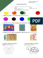 Evaluacion de Arte Colores Calidos y Frios