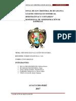 VAE FINAL Y PROYECTOS DE INVERSION