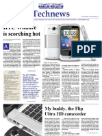 My First Tech News Article in  Manila Bulletin on the Flip Ultra HD