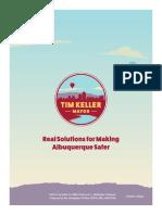 Time Keller's Public Safety Plan