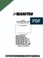 Manual Manitou MT 1230 S Parte 1