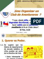 Como Organizar Un Club de Aventureros