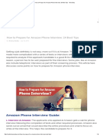 How to Prepare for Amazon Phone Interview_ 24 Best Tips - WiseStep