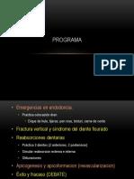 Urgencias en en Dodoncia