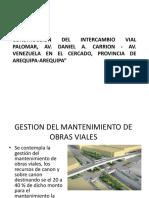 Construccion Del Intercambio Vial Palomar, Av