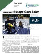 Watt's#112 Hudson's Hope Goes Solar, Big Time