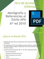 Scrib APA 6ta Edicion