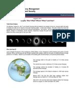 Eclipse Situational Awareness