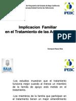 Implicacion Familiar en El Tratamiento de Las Adicciones