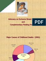 Advocay on Breast Feeding & Complementary Feeding