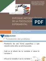 Enfoque Metodológico de La Psicología Experimental