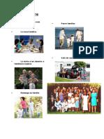Costumbres y Obligaciones Familiares