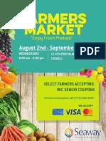 Seaway Bank farmer's market