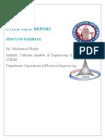 Internship Report (Autosaved)