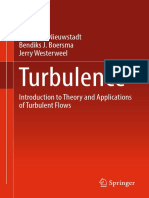 Turbulence Introduction to Theory and Applications of Turbulent Flows