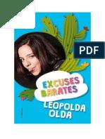 Descargar Excuses Barates by Leopolda Olda Libro