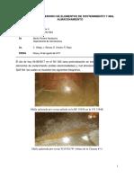 Informe Deterioro de Elementos de Sostenimiento y Mal Almacenamiento