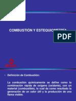 Combustión y Estequeometria