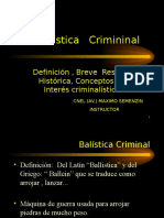 Balistica Criminal