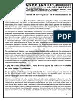 GUIDANCE IAS Study Material Modular Test 2