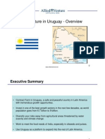 Agriculture in Uruguay - Overview