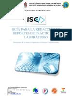 Guía Para La Redacción de Reportes de Prácticas 2017