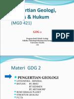 GDG 2 Bumi Proses Hukum