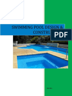 Swimming Pool Design and Construction by DAVE COLLINS