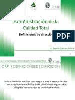 Definiciones de Direccion