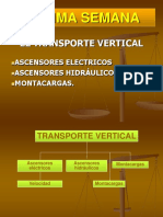 TRANSPORTE VERTICAL