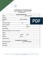 Form. Inscrição - Aluno Especial - 2º Sem. 2017 (1)