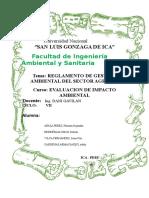 Reglamento de Gestión Ambiental Del Sector Agrario (01)