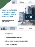 Tipos de Concreto Adecuado Para Construccion de Vivienda