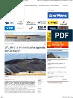 2017-04-19 - Licencia Social-minería en La Agenda Politica Mza