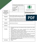 8.7.2.1 SOP Penilaian Kinerja Petugas Pemberi Pelayanan Klinis Proses Evaluasi Hasil Evaluasi Dan Tidak Lanjut