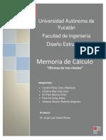 Oficina de 3 Niveles - Memoria de Calculo Estructural
