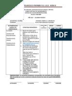 Acta Recuperaciones 8-9 Español Segundo Periodo