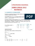 Cuaderno de álgebra Lineal