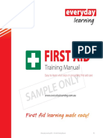 Everyday Learning First Aid Sample