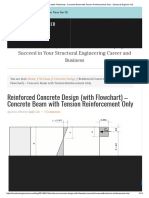 Reinforced Concrete Design (With Flowchart) - Concrete Beam With Tension Reinforcement Only - Structural Engineer HQ