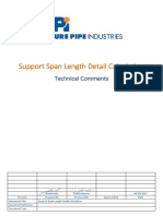 VETM-F-SPL-R0 - Support Span Length Detail Calculation
