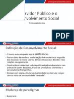 Aula 01 - Servidor Público e o Desenvolvimento Social