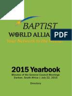 2015 BWA Yearbook