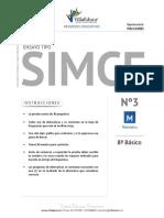 Ensayo3 Simce Matematica 8basico 2016