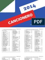 Cancionero TP 2014